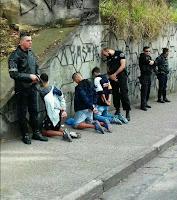 ROMO da GCM de Santo André apreende menores na prática de roubo a comércio