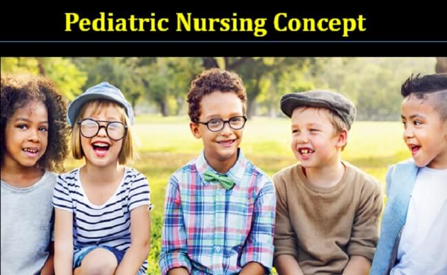 Pediatric nursing concept