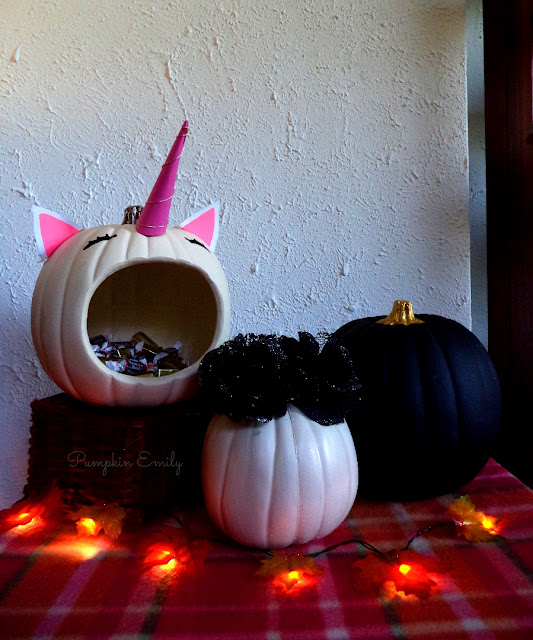 Simple & Cute DIY No Carve Pumpkins