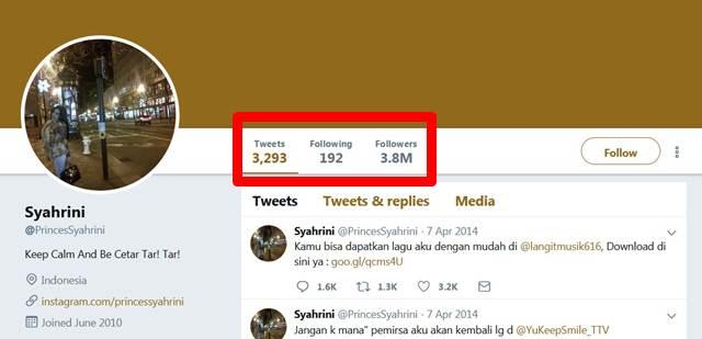 Banyakan Mana Follower Syahrini dan Agnez Mo Di Twitter ?