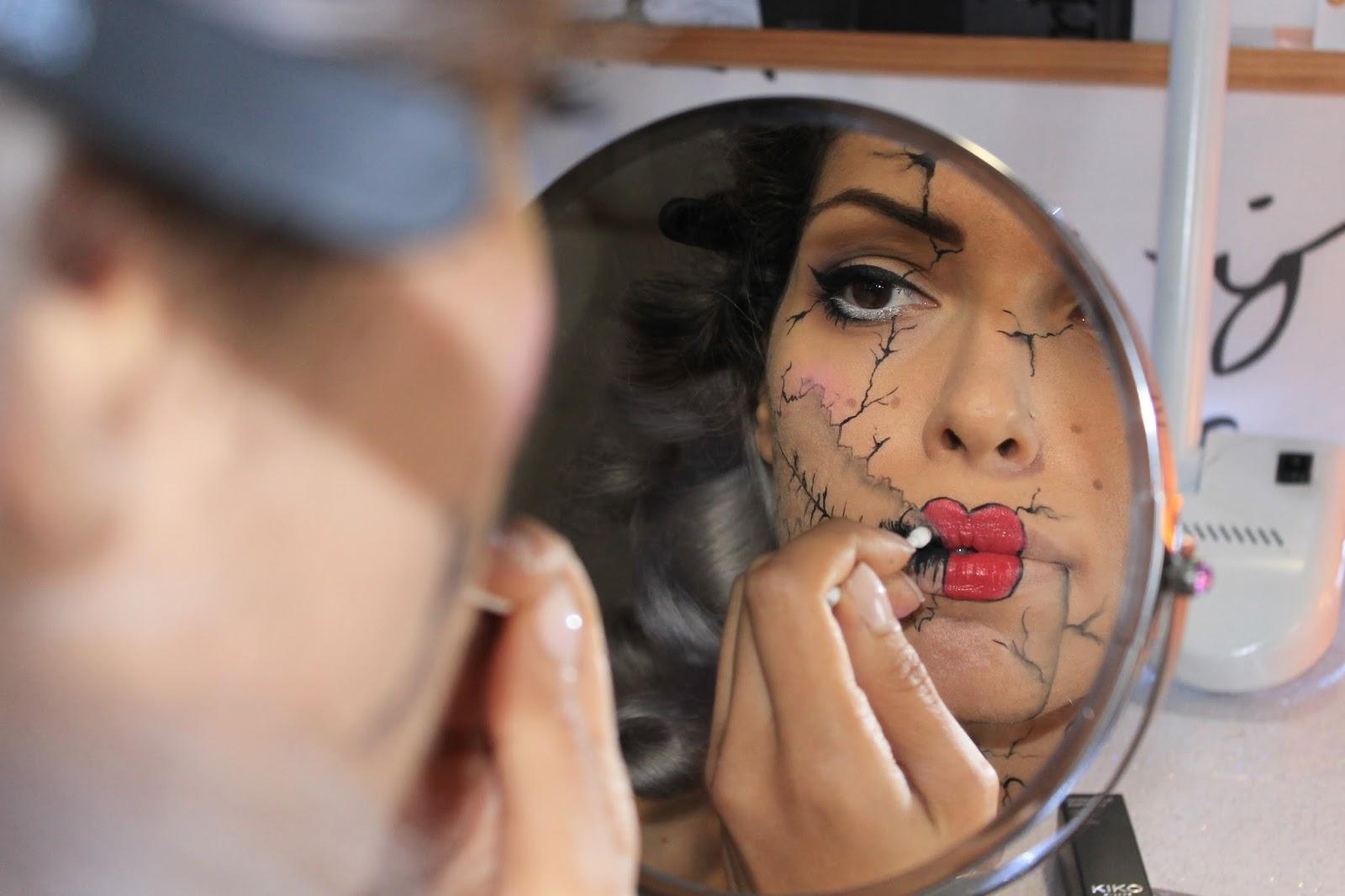 halloween make up tutorial 4