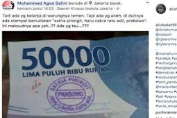 BI akan musnahkan uang berstempel ganti presiden 2019 dan Prabowo