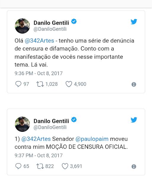 Twitter do Danilo!