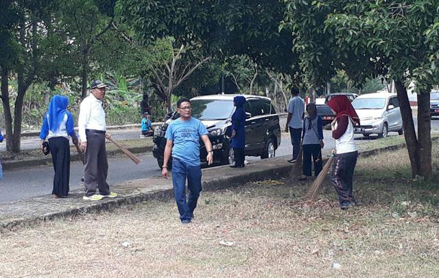 Pemkab Bone Gandeng TNI-Polri Lakukan Pembersihan Jelang Penilaian Kabupaten Sehat