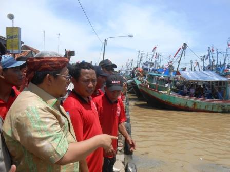 Meraiahnya Acara Ruat Laut Blanakan Subang