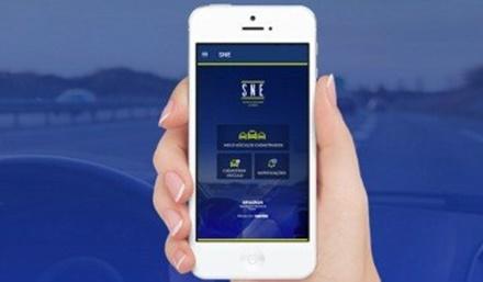 Aplicativo gratuito para smartphones da plataforma Android permite desconto em multas de trânsito