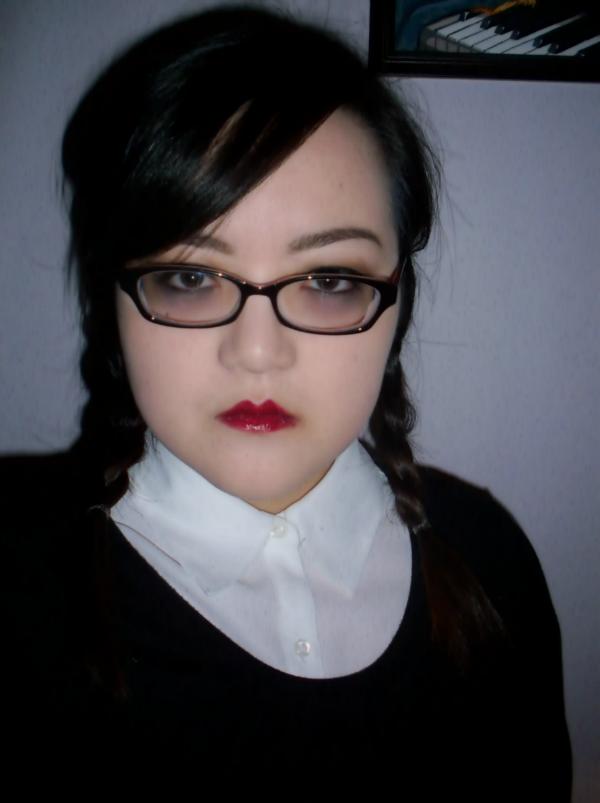 Makeup Is An Artform Halloween Looks Wednesday Addams