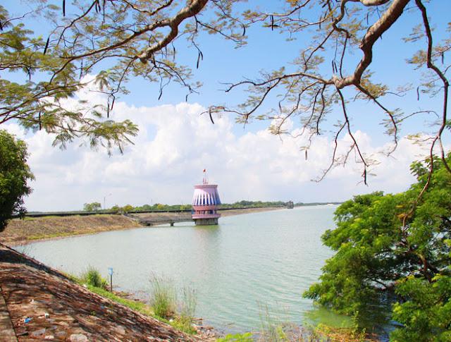 admire stunning beauty of Dau Tieng Lake