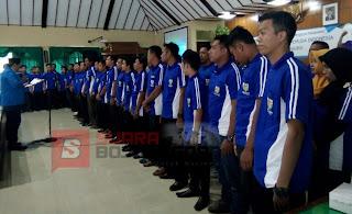 28 Pengurus KNPI Kecamatan se Bojonegoro Dikukuhkan