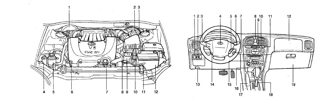 Manuales de mecánica y taller: Hyundai Sonata 2000 manual