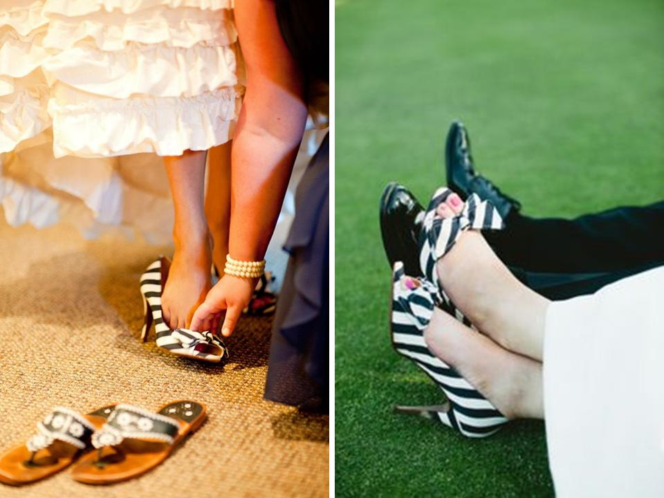 sapato listrado para noivas