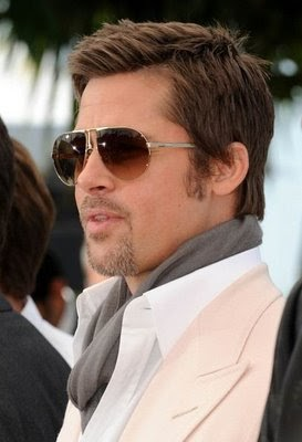 Hair Amp Tattoo Lifestyle Brad Pitt Short Hairstyle