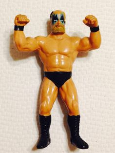 "WWF LJN Wrestling Superstars /""A/"" Acrylic Display Case"