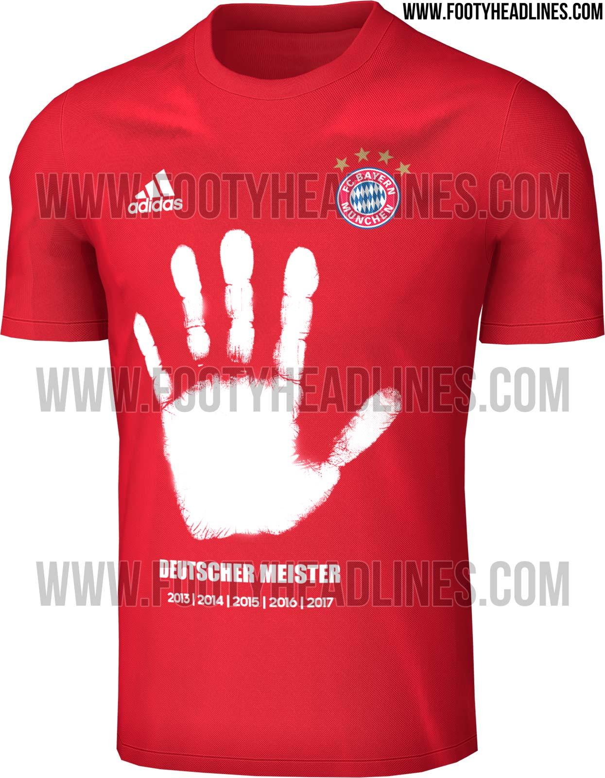 b11bd25ef2ef1 Mão cheia! Bayern de Munique terá camisa especial para celebrar o penta da  Bundesliga
