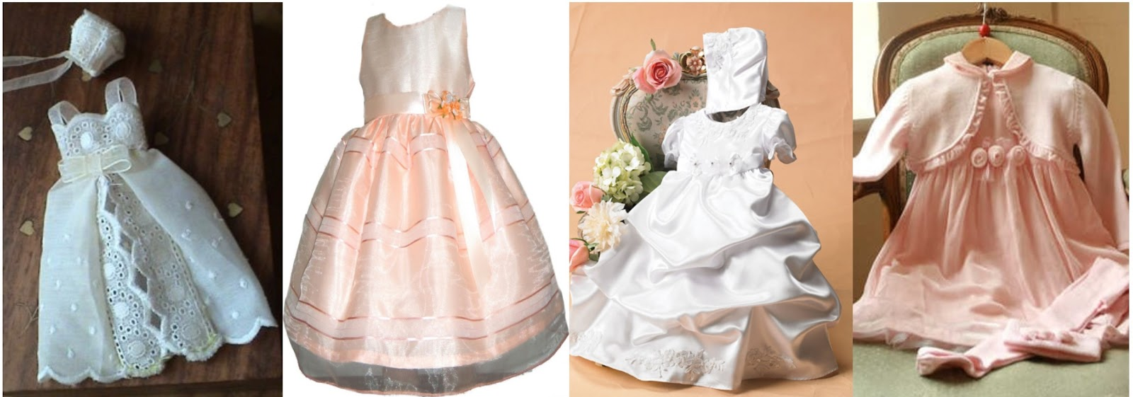 Vestidos de bautismo para niñas pequeñas  Tendencias de vestidos de ... c695bbf31187
