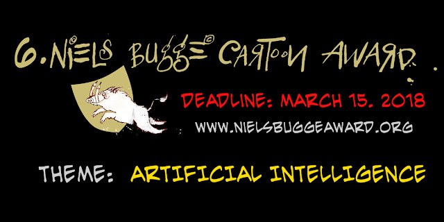 6th Niels Bugge Cartoon Award 2018