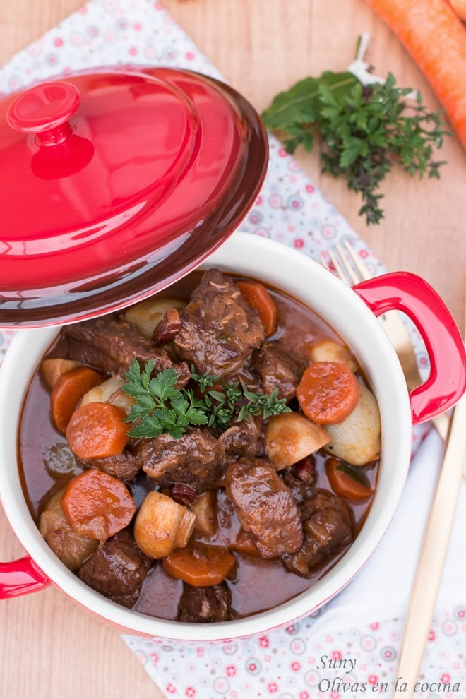 Boeuf Bourguignon - Julia Child
