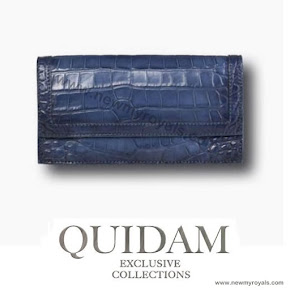 Princess Mary Style Quidam Alligator Clutch