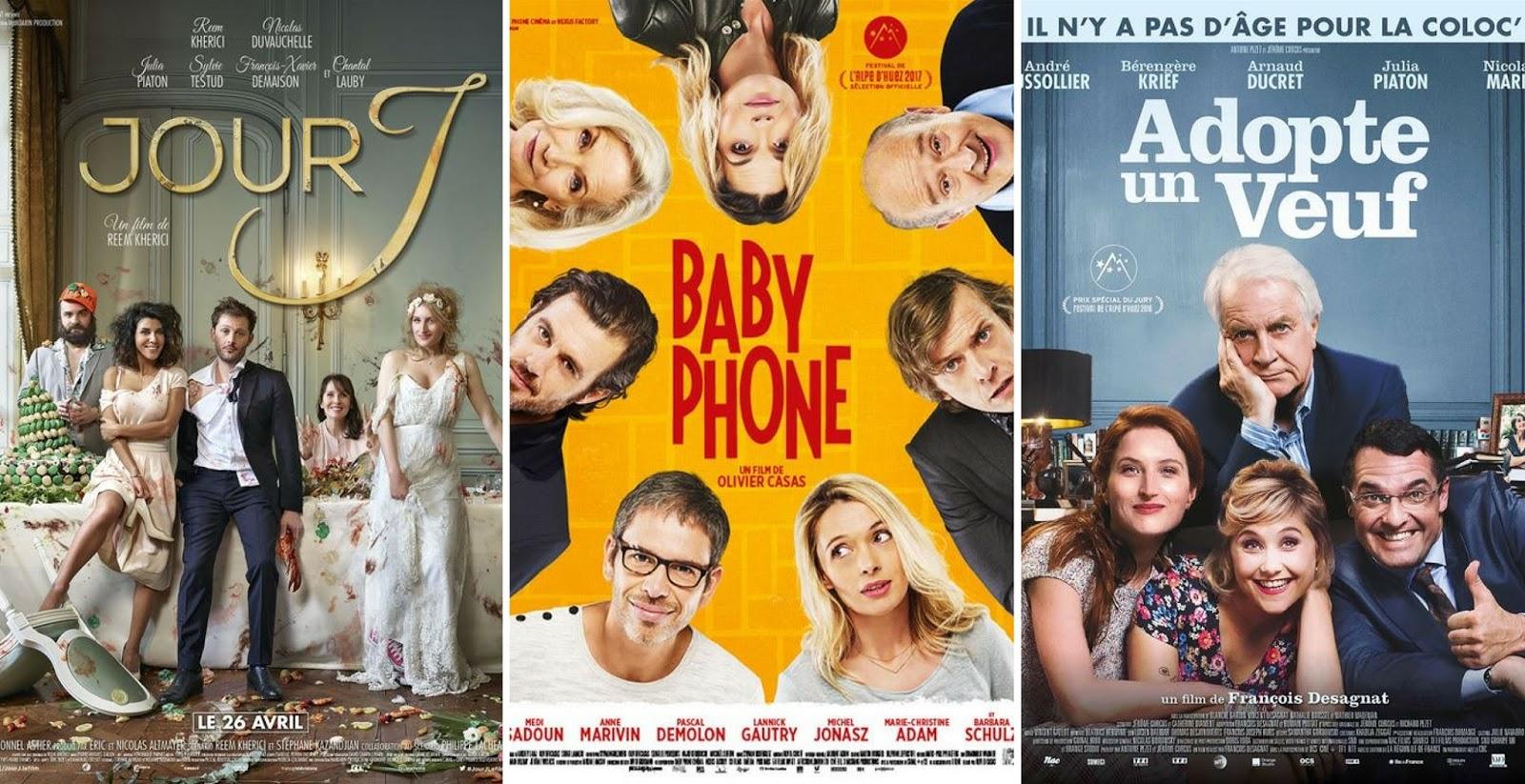 3 comédies françaises à voir ou à revoir