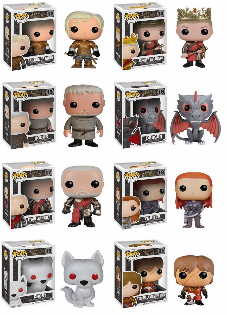 Collecting Toyz Funko Pop Game Of Thrones Series 3 Announced