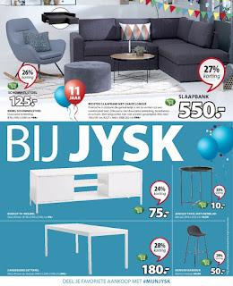 JYSK folder 28 Augustus – 10 September 2017