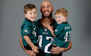Chris Maragos of the Seattle Seahawks