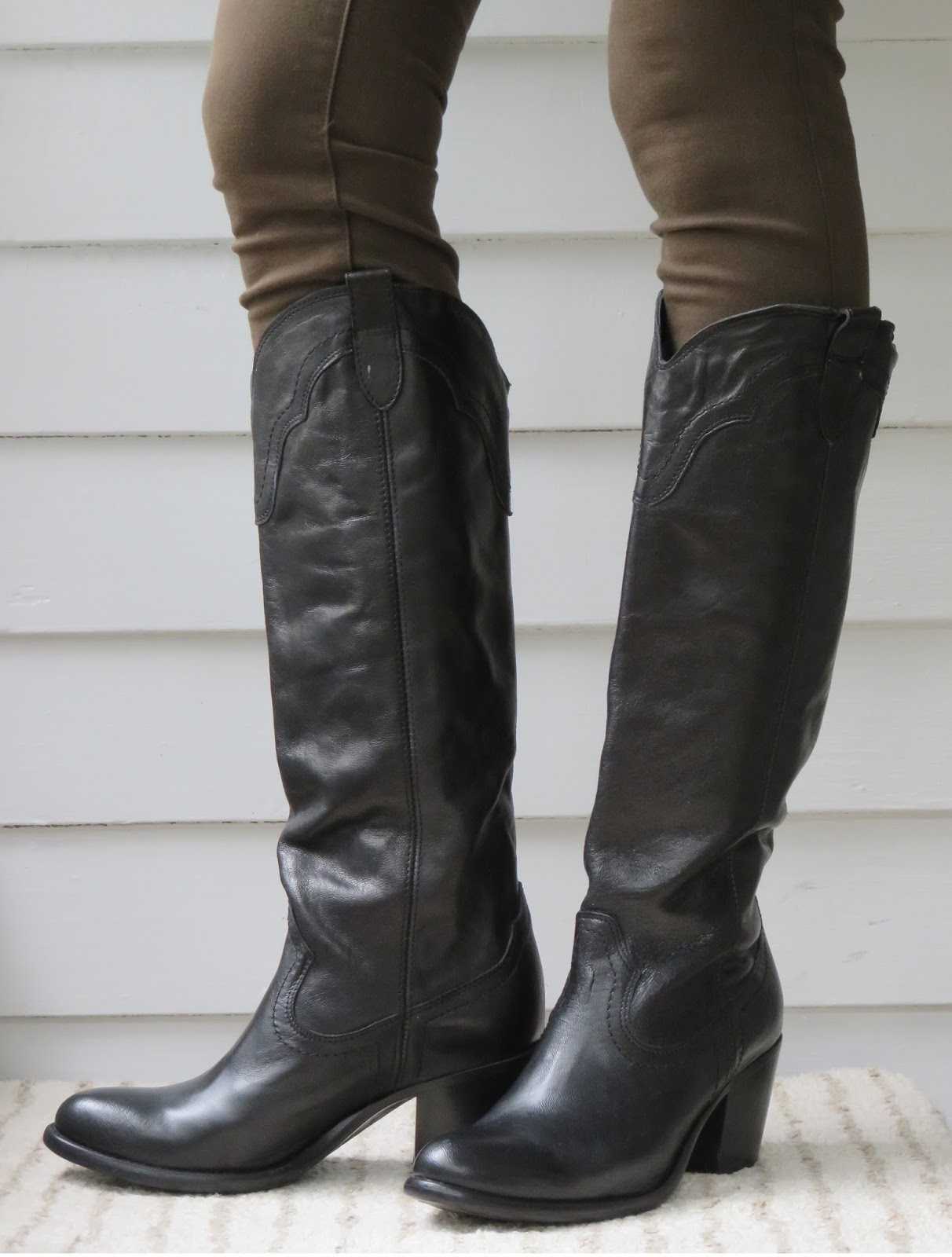 Howdy Slim Riding Boots For Thin Calves Frye Tabitha