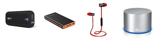 Gadgets Galore - EC Technology, Lumsing, power bank, bluetooth headphones, bluetooth speaker