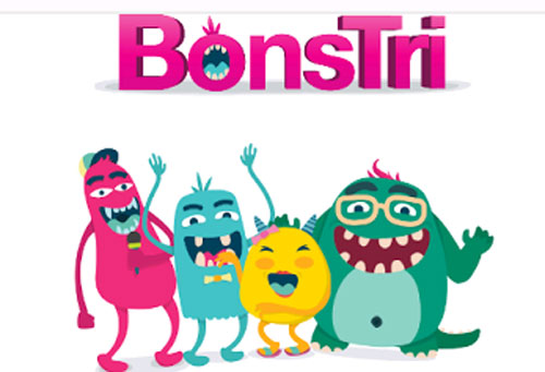 4 karakter BonsTri.  Gambar dari tri.co.id