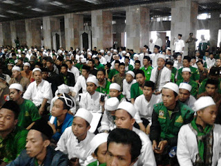 Pengajian Akbar, Dikawal Ansor dan Banse Bandung Barat