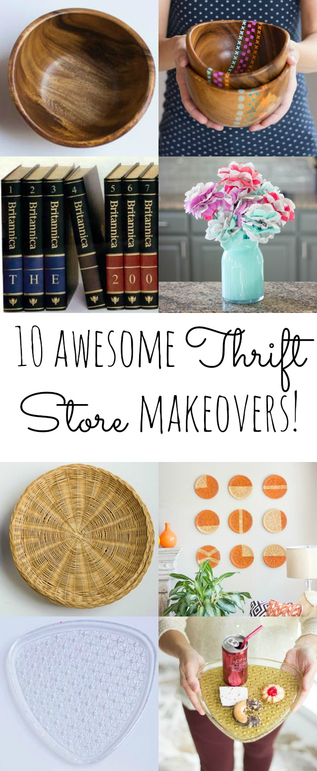 10 awesome thrift store makeovers you can do in minutes!