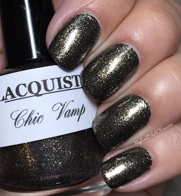 Lacquistry Nail Polish Vamps Group Customs; Chic Vamp