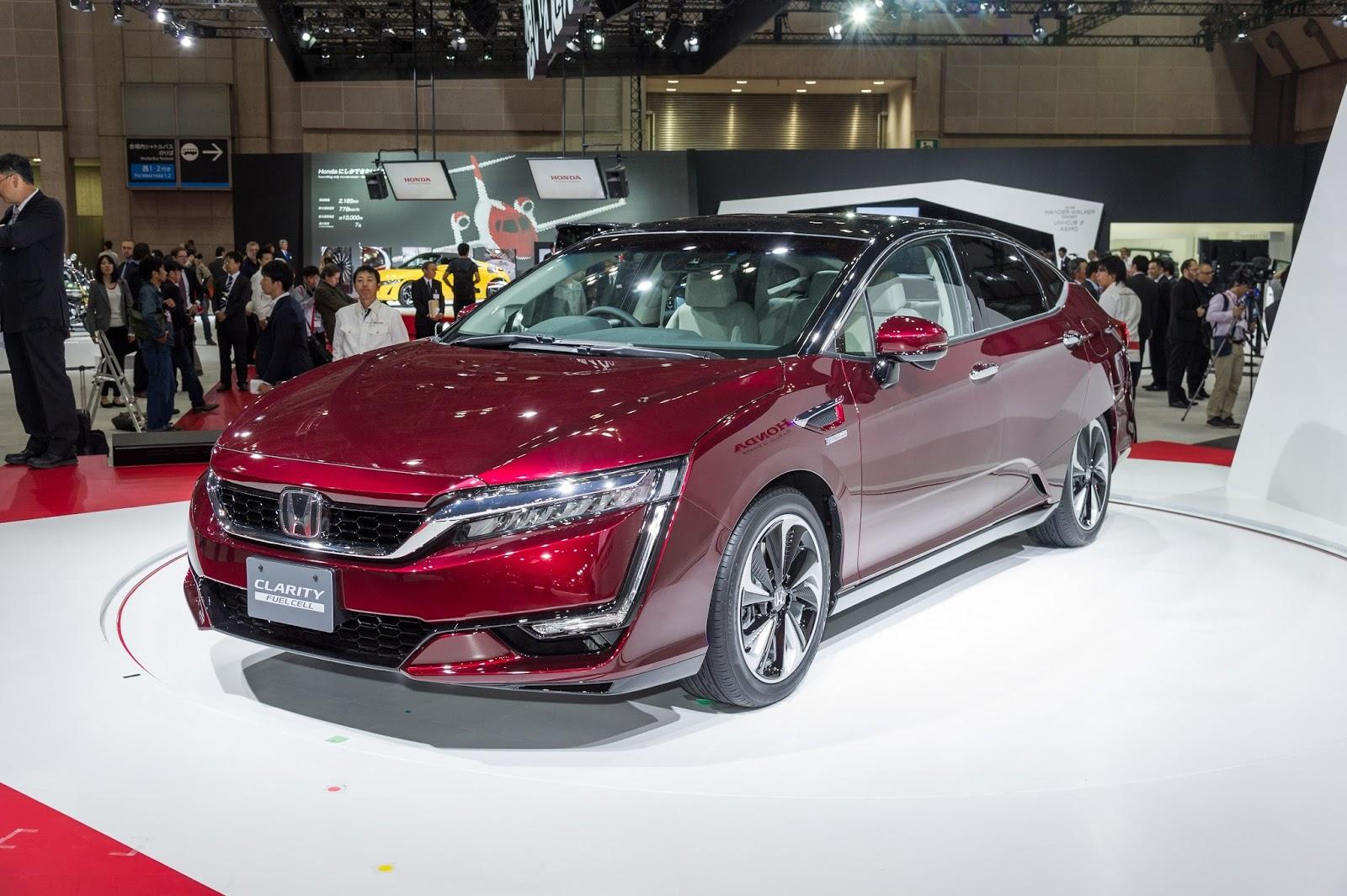 Honda%2BClarity%2BFuel%2Bcell%25281%2529 H Honda φέρνει στην Ευρώπη την απάντησή της στο Mirai Honda, Honda Clarity Fuel Cell, κυψέλες καυσίμου, υδρογόνο