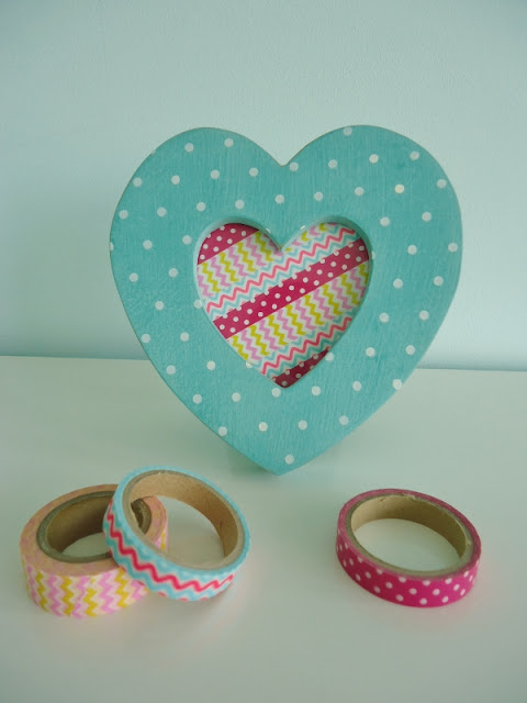 Dinki Dots Craft: Washi Tape Picture