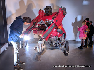 A Ford transformer in the new John Hansard Gallery Southampton