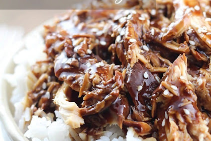 Easy Slow Cooker Crock Pot Teriyaki Chicken