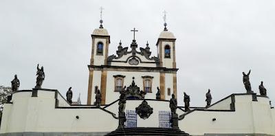 Santuário do Bom Jesus de Matosinhos - Congonhas, Minas Gerais - Brasil