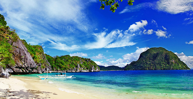 palawan, asia beach and seashore tourist attractions
