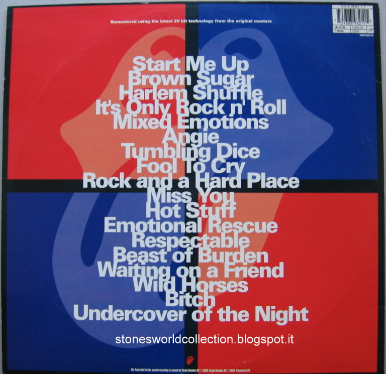 Stonesworldcollection Jump Back The Best Of The Rolling