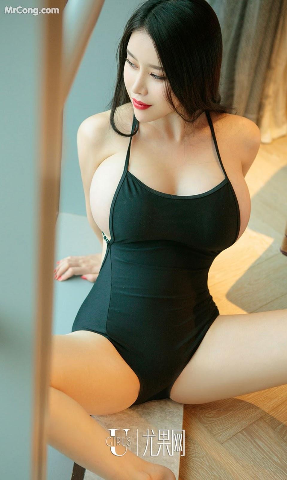 Image UGIRLS-Ai-You-Wu-App-No.901-Dai-Nuo-Xin-MrCong.com-002 in post UGIRLS – Ai You Wu App No.901: Người mẫu Dai Nuo Xin (黛诺欣) (40 ảnh)