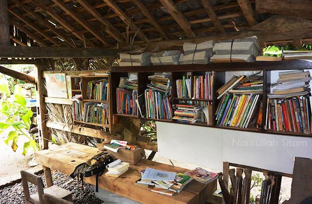 Perpustakaan di Watu Lumbung