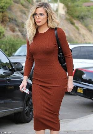 Khloe Kardashian Heads To Ttylist Monica Rose's
