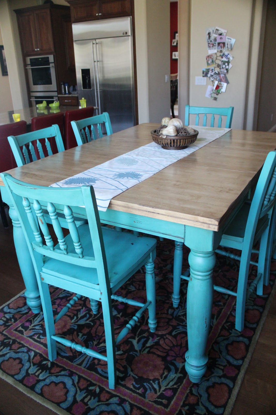 Teal Kitchen Chairs New To You Turquoise Table