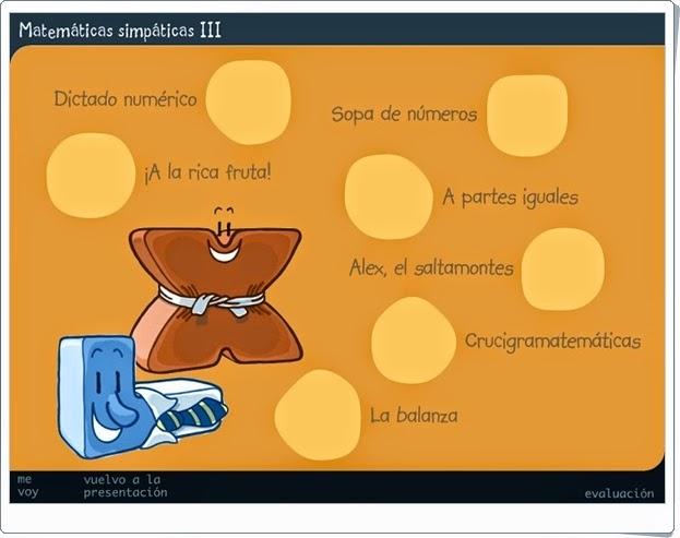 """""""Matemáticas Simpáticas III"""" (Juegos de 3º de Primaria)"""