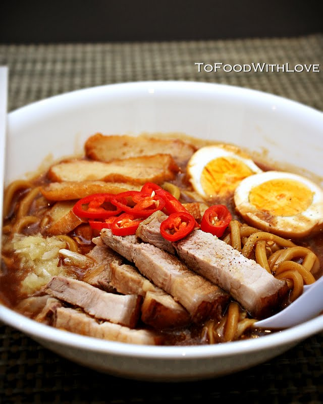 To Food With Love: Lor Mee (Braised Noodles