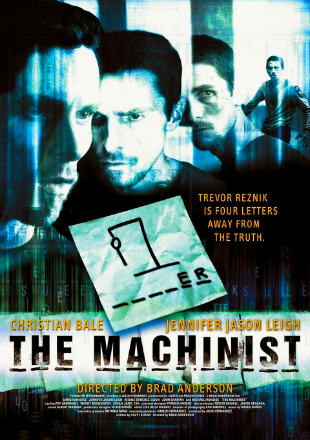 The Machinist (2004) BRRip 720p Dual Audio In Hindi English ESub
