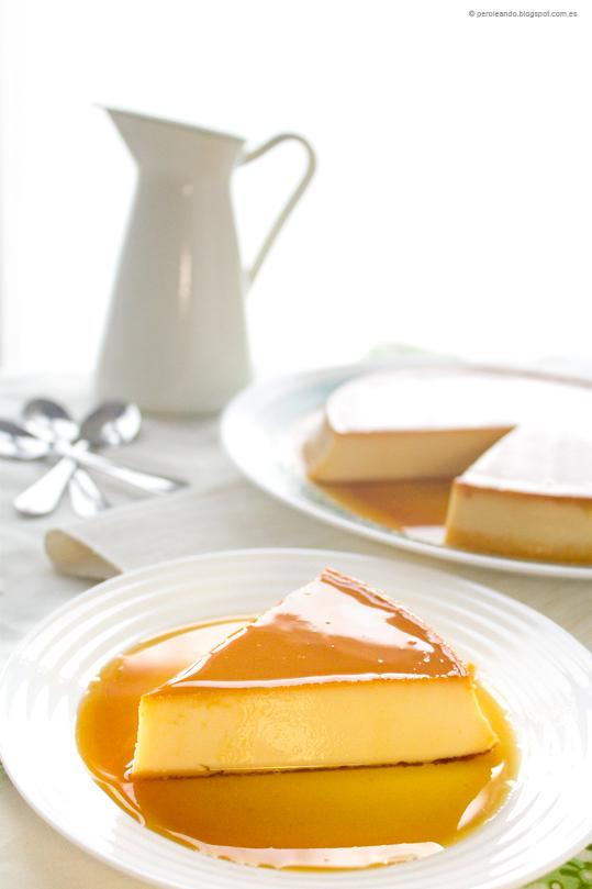 flan de queso