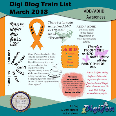 DBTL: ADD/ADHD Awareness