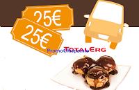 Logo Gioca e vinci 216 buoni carburante da 25 euro
