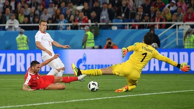 Hasil Pertandingan Serbia vs Swiss - Piala Dunia 2018